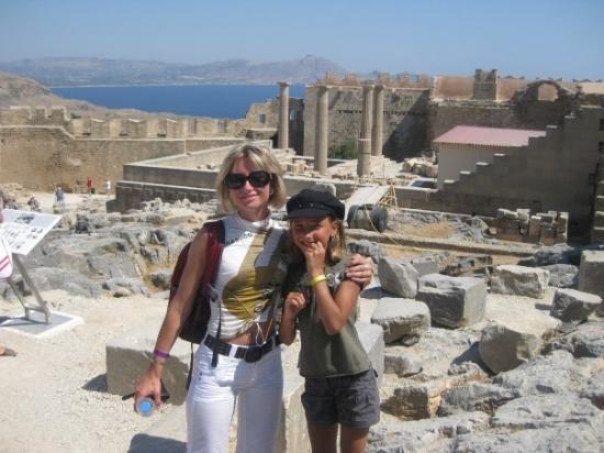 ลินดอส, กรีซ: Acropolis of Lindos