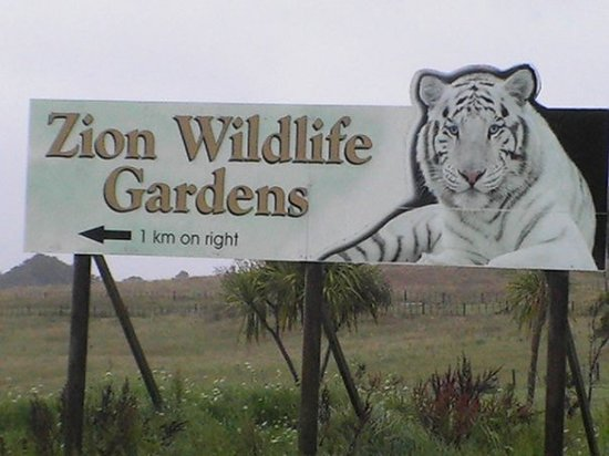 Kamo Wildlife Sanctuary: Zion Wildlife Park