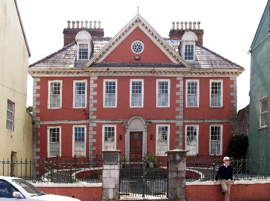 The Dutch Style Red House In Youghal Picture Of