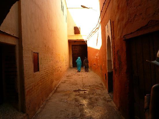 Riad Zolah: Weg zum Riad