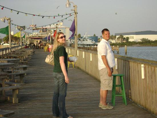 Pier 19: Out on the pier after dinner