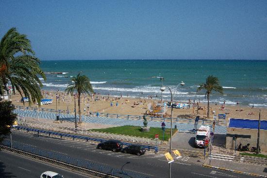 Hotel Goya: Parte della spiaggia cittadina
