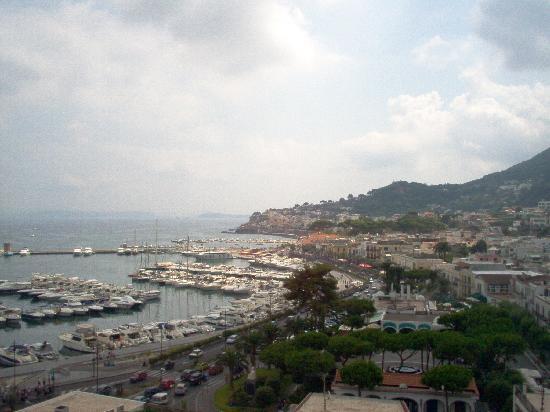 Hotel Terme Cristallo Palace: Vista dalle terrazze-giardino hotel