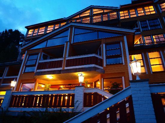 Grande Fjord Hotel: ingresso inferiore