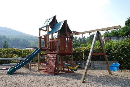 Golden Sands Resort on Lake George: The playground