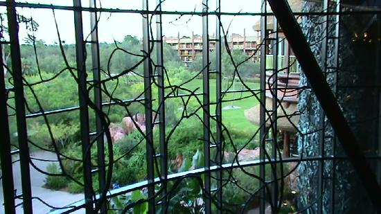 Disney's Animal Kingdom Lodge: Landscape window to Savannah