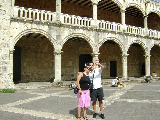 Grand Bahia Principe El Portillo: Us at Santo Domingo, Diego  Colon's Palace