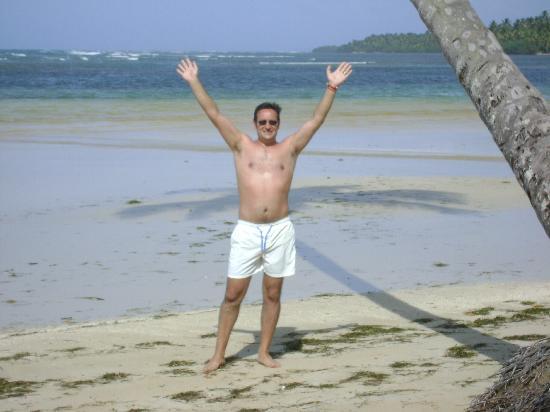 Grand Bahia Principe El Portillo: Me at the beach