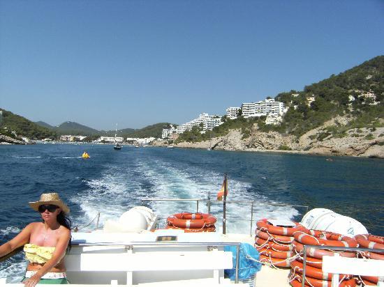 Water Taxi Cala Llonga to Ibiza - Picture of Sirenis Cala