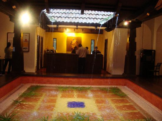 Club Mahindra Madikeri, Coorg: The reception