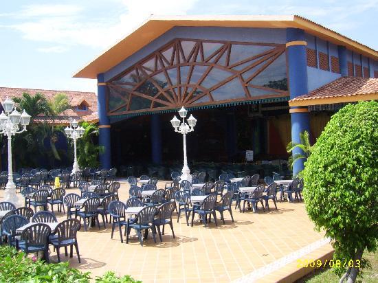 Hotel Riu Playacar: teatro