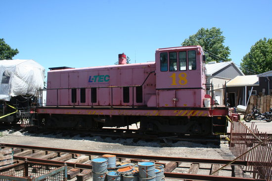 Waterloo, Kanada: GE 95 Ton awaiting restoration