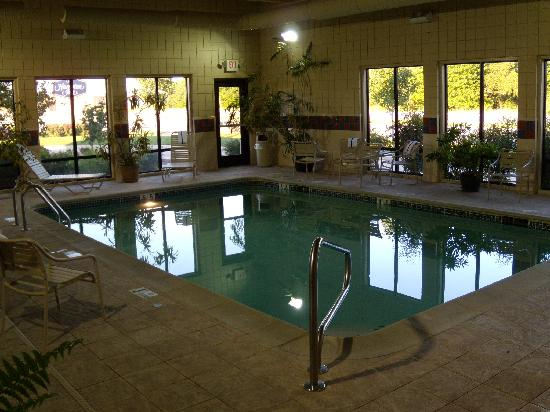 Hampton Inn Clinton: Indoor Pool