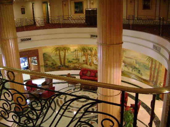 Steigenberger Nile Palace Luxor: inside lobby