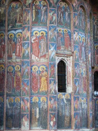 Vatra Moldovitei, Rumänien: Moldovita Monastery 5