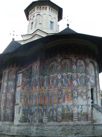 Vatra Moldovitei, Rumänien: Moldovita Monastery 6