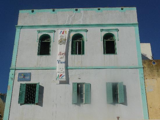 La Maison Haute: fachada