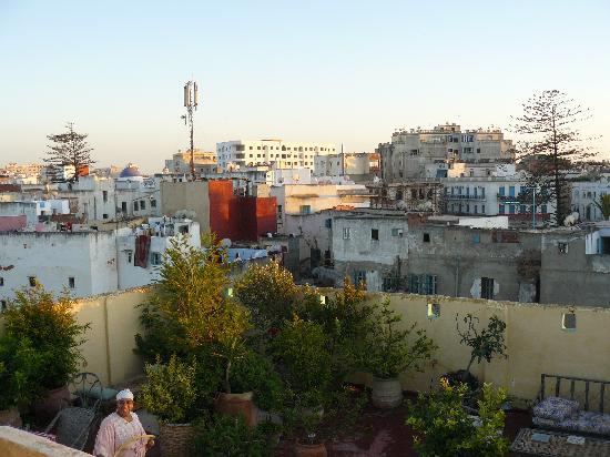 La Maison Haute: vista (oeste) desde la terraza