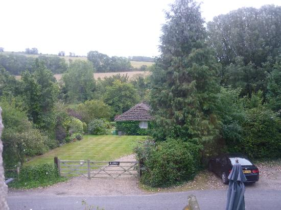 Burpham Country House: view from the window