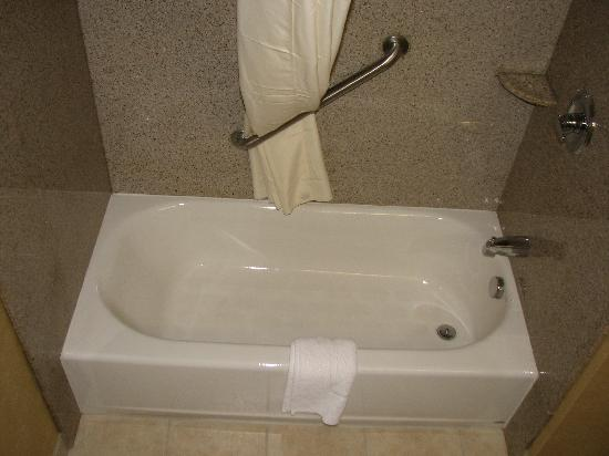Comfort Inn Cheektowaga: New bathroom; very clean and roomy
