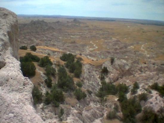 Badlands Wall ภาพถ่าย
