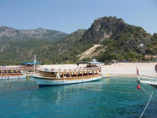 Oludeniz: Olu Deniz beach - done boat trip which left from here