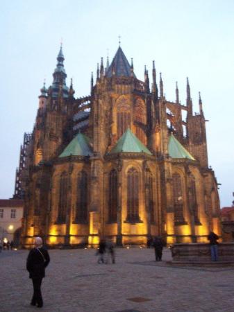 มหาวิหารเซนต์วิตุส: la catedral de Praga