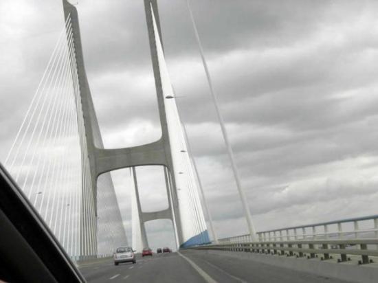 Vasco da Gama Bridge : Desde el Puente Vasco da Gama