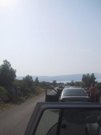 รับ, โครเอเชีย: on the way to the ferry Insel Rab - Kroatien