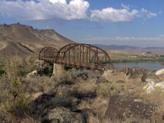 Melba, ID: Bridge over the Snake river