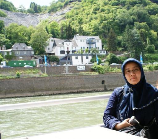 Sankt Goar, เยอรมนี: menikmati pinggir sungai rhein dari kapal...