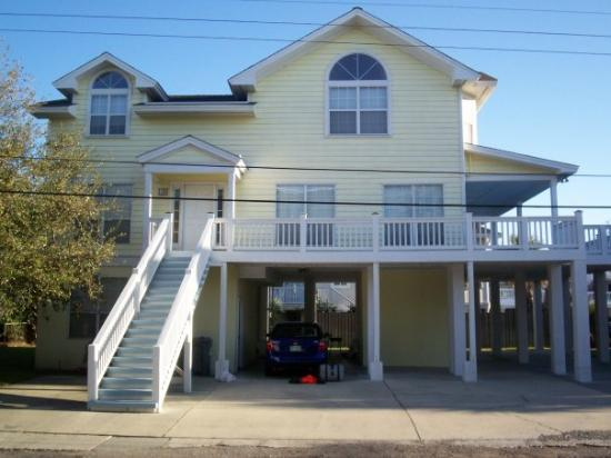 Tybee Island, จอร์เจีย: Three story House we stayed in