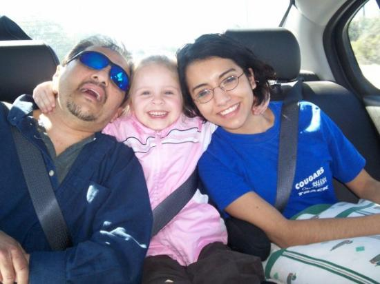 Tybee Island, จอร์เจีย: enjoying the ride home