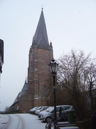 The Luther church in Marburg