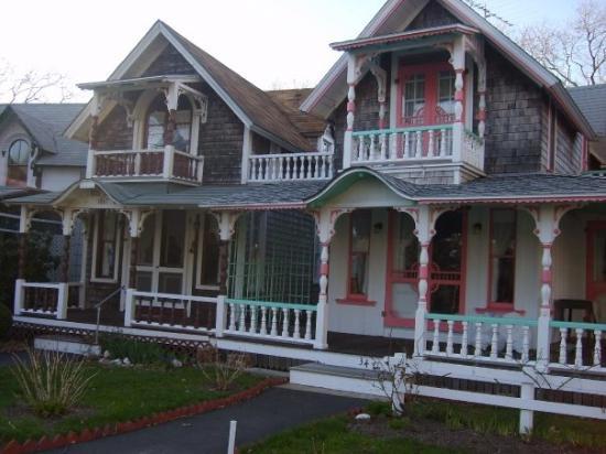 Martha's Vineyard, แมสซาชูเซตส์: gingerbread houses for methodists