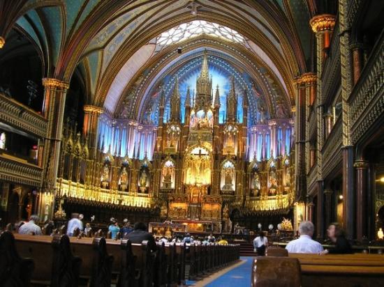 น็อทร์-ดามบาซิลิกา: Notre Dame...dove si è sposata Céline Dion