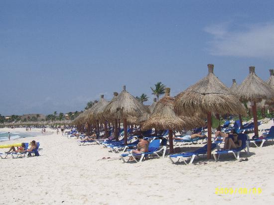 Grand Bahia Principe Tulum: playa 2