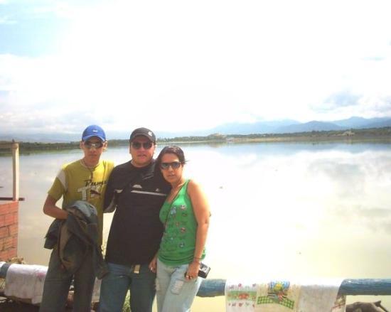 Yacuiba, Bolivia: Represa San Jacinto en Tja.
