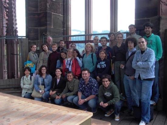 Freiburg Cathedral: in the cathedral