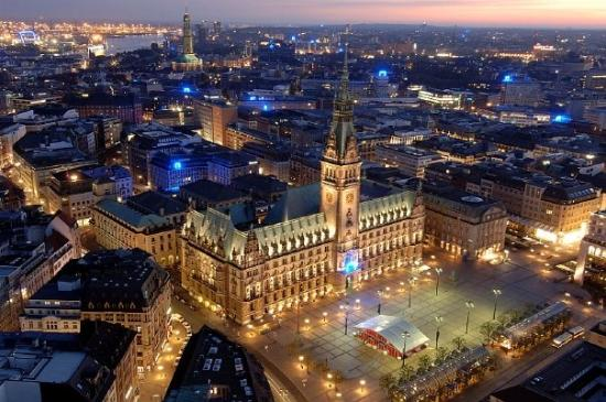 Hamburg, Deutschland: HH City Hall