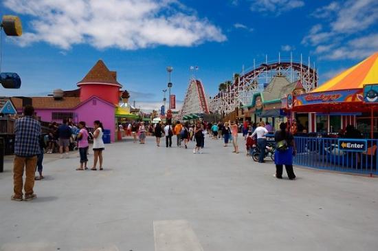 Santa Cruz Beach Boardwalk: The Boardwalk in Santa Cruz.