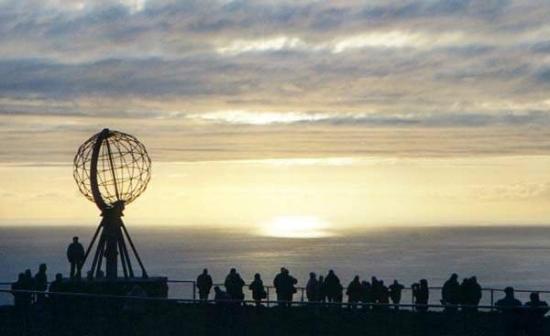 Nordkapp Municipality, Norway: Il Sole a Mezzanotte