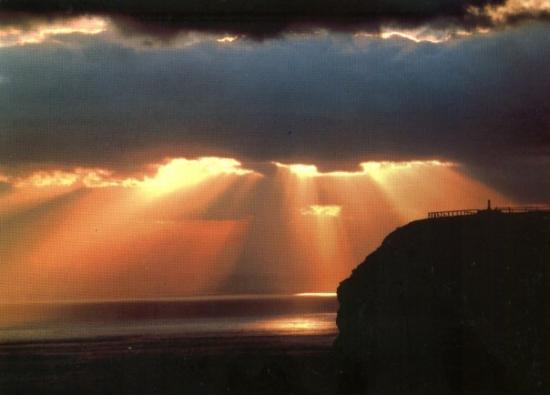 Nordkapp Municipality, Norway: Sol de Medianoche en el Cabo Norte (Noruega)