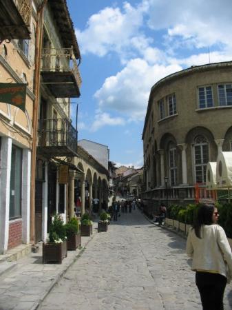 Veliko Tarnovoa tästä eteenpäin.