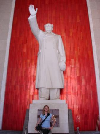 หนางฉาง, จีน: nanchino, statua di Mao