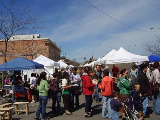 missoula's first farmer's market of the year