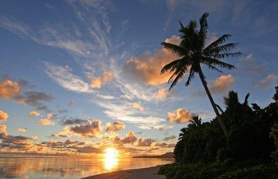 Bilde fra Rarotonga