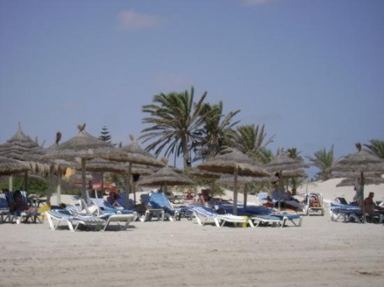 SunConnect Djerba Aqua Resort: Djerba, Tunisie   La plage