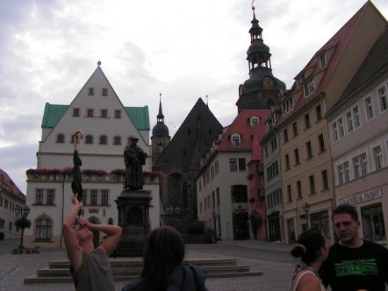 Eisleben marketplace