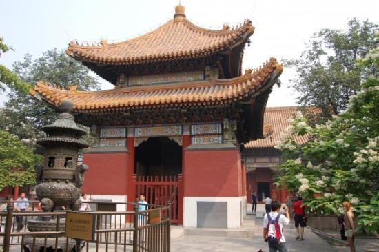วัดลามะ (ยองกีกอง): Le temples des Lamas. Ancien palais le l'empereur Yongzheng, offert aux moines tibétains.  Les